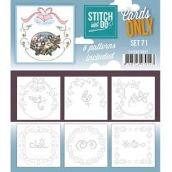 (COSTDO10071)Cards Only Stitch 4K - 71