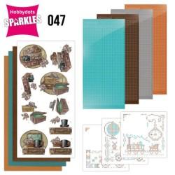 (SPDO047)Sparkles Set 47 - Yvonne Creations - Good Old Days - Suitcase
