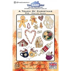 (SSB005)The Card Hut Festive Touch Clear Stamps