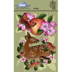 (CEDDO)The Card Hut Doe Clear Stamps