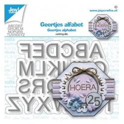 (6002/1559)Cutting dies Geertjes Alphabet