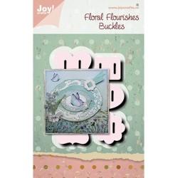 (6002/1566)Cutting dies Noor - Floral flourishes - Buckles