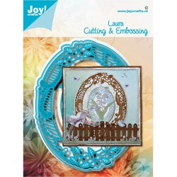 (6002/1589)Cutting embossing dies Noor - Laura