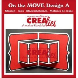 (CLMOVE01)Crealies On The Move Design A