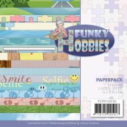 (YCPP10036)Paperpack - Yvonne Creations - Funky Hobbies