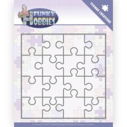 (YCD10226)Dies - Yvonne Creations - Funky Hobbies - Puzzle