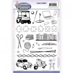 (YCCS10063)Clear Stamps - Yvonne Creations - Funky Hobbies