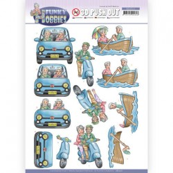 (SB10511)3D Push Out - Yvonne Creations - Funky Hobbies - A day out