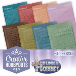 (CHSTS009)Creative Hobbydots 9 - Sticker Set