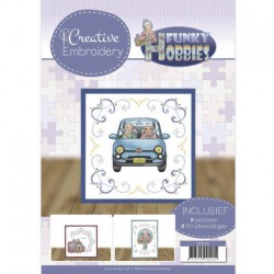 (CB10021)Creative Embroidery 21 - Yvonne Creations - Funky Hobbies