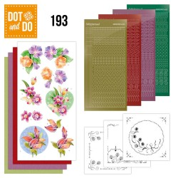 (DODO193)Dot and Do 193 - Jeanine's Art - Orchid