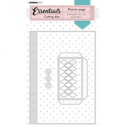 (STENCILSL347)Studio Light Cutting and Embossing Die Essentials - nr.347