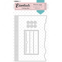 (STENCILSL348)Studio Light Cutting and Embossing Die Essentials - nr.348