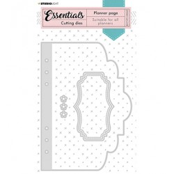 (STENCILSL349)Studio Light Cutting and Embossing Die Essentials - nr.349