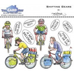 (MBGOSG)The Card Hut Great Outdoors: Shifting Gears Clear Stamps
