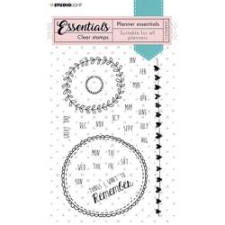 (STAMPSL511)Studio light Stamp Essentials - nr.511