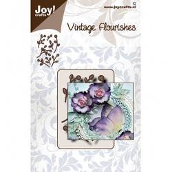 (6003/0099)Cutting dies Vintage flourishes - Branches