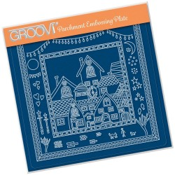 (GRO-HO-41688-03)Groovi Plate A5 BARBARA'S ABOUT TOWN