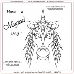 (LS9001E)PCA-UK® - EasyEmboss Magical Day Unicorn