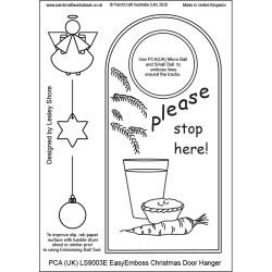 (LS9003E)PCA-UK® - EasyEmboss Christmas Door Hanger