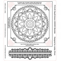 (LS9005E)PCA-UK® - EasyEmboss Mandala