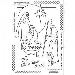 (JM9004E)PCA-UK® - EasyEmboss Nativity