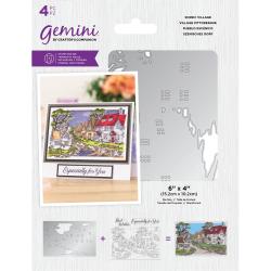 (GEM-STD-SCEV)Gemini Scenic Village Stamp & Die
