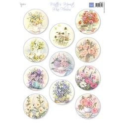 (MB0190)3D Mattie's Mini's – Flowers