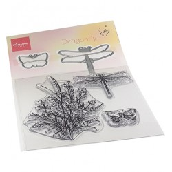 (TC0880)Clear stamp Tiny's Butterflies stamp & die set