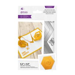 (GEM-MD-ELE-SPHC)Gemini Spiral Pop-Out Honeycomb Elements Dies