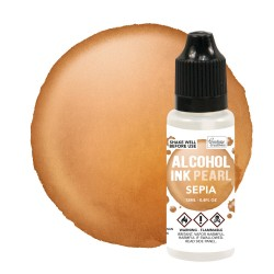 (CO727372)Mineral / Sepia Pearl Alcohol Ink (12mL | 0.4fl oz)
