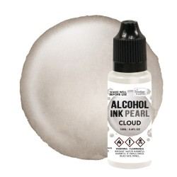 (CO727376)Smoulder / Cloud Pearl Alcohol Ink (12mL | 0.4fl oz)