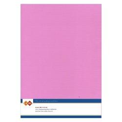 (LKK-A437)Linen Cardstock - A4 - Fuchsia