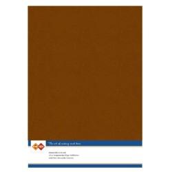 (LKK-A458)Linen Cardstock - A4 - Brown