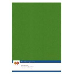 (LKK-A460)Linen Cardstock - A4 - Fern Green