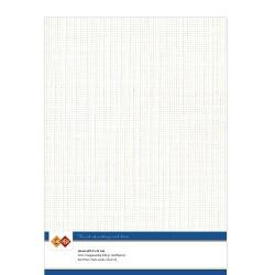 (LKK-A432)Linen Cardstock - A4 - Off-white
