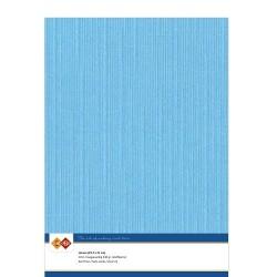 (LKK-A429)Linen Cardstock - A4 - Sky blue