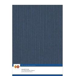 (LKK-A430)Linen Cardstock - A4 - Dark blue