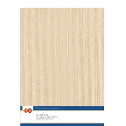 (LKK-A408)Linen Cardstock - A4 - Light brown