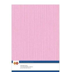 (LKK-A416)Linen Cardstock - A4 - Pink