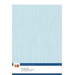 (LKK-A427)Linen Cardstock - A4 - Baby blue