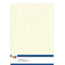 (LKK-A402)Linen Cardstock - A4 - Cream