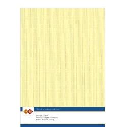 (LKK-A404)Linen Cardstock - A4 - Yellow