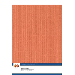 (LKK-A411)Linen Cardstock - A4 - Orange