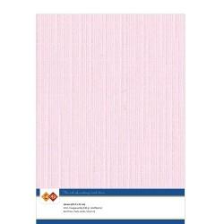 (LKK-A415)Linen Cardstock - A4 - Light pink