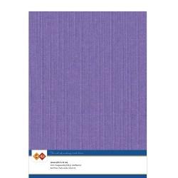 (LKK-A418)Linen Cardstock - A4 - Violet