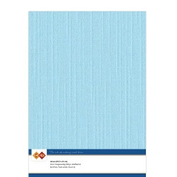 (LKK-A428)Linen Cardstock - A4 - Light blue