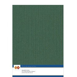 (LKK-A423)Linen Cardstock - A4 - Christmas green