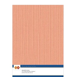 (LKK-A410)Linen Cardstock - A4 - Soft orange