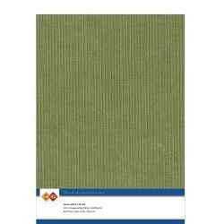 (LKK-A441)Linen Cardstock - A4 - Moss-green
